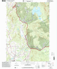 Download a high-resolution, GPS-compatible USGS topo map for Chittenden, VT (2000 edition)