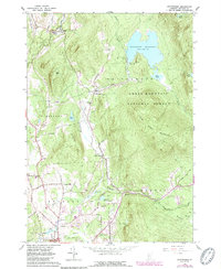 Download a high-resolution, GPS-compatible USGS topo map for Chittenden, VT (1989 edition)