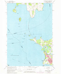 Download a high-resolution, GPS-compatible USGS topo map for Colchester Point, VT (1973 edition)