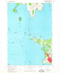 Download a high-resolution, GPS-compatible USGS topo map for Colchester Point, VT (1968 edition)