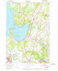 Download a high-resolution, GPS-compatible USGS topo map for Colchester, VT (1973 edition)