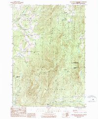 Download a high-resolution, GPS-compatible USGS topo map for Cold Hollow Mountains, VT (1987 edition)