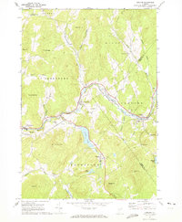 Download a high-resolution, GPS-compatible USGS topo map for Concord, VT (1973 edition)