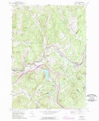 Download a high-resolution, GPS-compatible USGS topo map for Concord, VT (1989 edition)