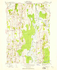 Download a high-resolution, GPS-compatible USGS topo map for Cornwall, VT (1958 edition)