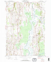 Download a high-resolution, GPS-compatible USGS topo map for Cornwall, VT (1990 edition)