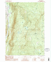 Download a high-resolution, GPS-compatible USGS topo map for Danby, VT (1987 edition)