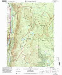 Download a high-resolution, GPS-compatible USGS topo map for Danby, VT (2000 edition)