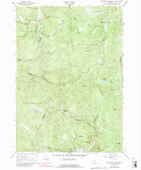 Download a high-resolution, GPS-compatible USGS topo map for Delectable Mountain, VT (1989 edition)