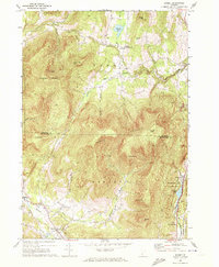 Download a high-resolution, GPS-compatible USGS topo map for Dorset, VT (1972 edition)