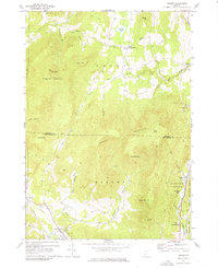 Download a high-resolution, GPS-compatible USGS topo map for Dorset, VT (1976 edition)