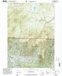 Download a high-resolution, GPS-compatible USGS topo map for Dorset, VT (2000 edition)