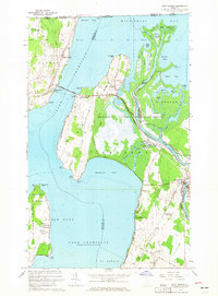 Download a high-resolution, GPS-compatible USGS topo map for East Alburg, VT (1965 edition)
