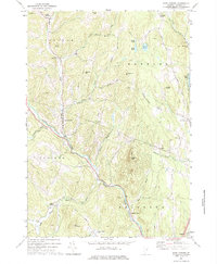 Download a high-resolution, GPS-compatible USGS topo map for East Corinth, VT (1975 edition)