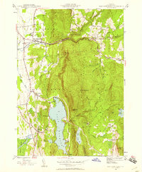 Download a high-resolution, GPS-compatible USGS topo map for East Middlebury, VT (1958 edition)