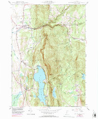 Download a high-resolution, GPS-compatible USGS topo map for East Middlebury, VT (1991 edition)