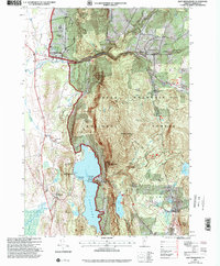 Download a high-resolution, GPS-compatible USGS topo map for East Middlebury, VT (2000 edition)