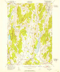 Download a high-resolution, GPS-compatible USGS topo map for Essex Center, VT (1953 edition)