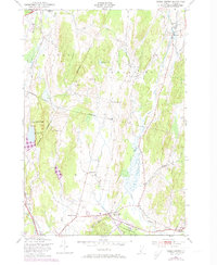 Download a high-resolution, GPS-compatible USGS topo map for Essex Center, VT (1973 edition)