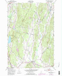 Download a high-resolution, GPS-compatible USGS topo map for Essex Center, VT (1987 edition)