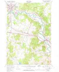 Download a high-resolution, GPS-compatible USGS topo map for Essex Junction, VT (1973 edition)