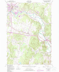 Download a high-resolution, GPS-compatible USGS topo map for Essex Junction, VT (1987 edition)