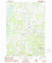 Download a high-resolution, GPS-compatible USGS topo map for Fairfield, VT (1986 edition)