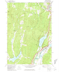 Download a high-resolution, GPS-compatible USGS topo map for Fairlee, VT (1981 edition)