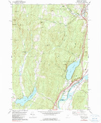 Download a high-resolution, GPS-compatible USGS topo map for Fairlee, VT (1990 edition)