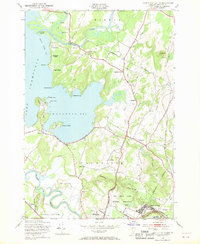 Download a high-resolution, GPS-compatible USGS topo map for Fort Ethan Allen, VT (1970 edition)