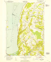 Download a high-resolution, GPS-compatible USGS topo map for Georgia Plains, VT (1953 edition)
