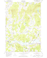 Download a high-resolution, GPS-compatible USGS topo map for Gilson Mountain, VT (1977 edition)