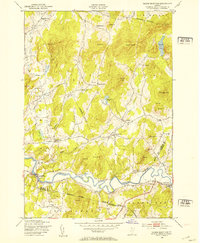 Download a high-resolution, GPS-compatible USGS topo map for Gilson Mountain, VT (1953 edition)