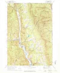 Download a high-resolution, GPS-compatible USGS topo map for Hancock, VT (1972 edition)