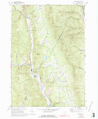 Download a high-resolution, GPS-compatible USGS topo map for Hancock, VT (1992 edition)