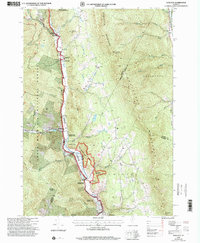 Download a high-resolution, GPS-compatible USGS topo map for Hancock, VT (2000 edition)