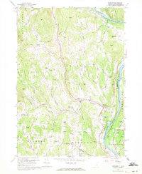 Download a high-resolution, GPS-compatible USGS topo map for Hartland, VT (1971 edition)