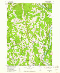 Download a high-resolution, GPS-compatible USGS topo map for Hartland, VT (1961 edition)