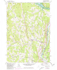 Download a high-resolution, GPS-compatible USGS topo map for Hartland, VT (1981 edition)