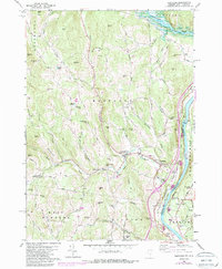 Download a high-resolution, GPS-compatible USGS topo map for Hartland, VT (1988 edition)