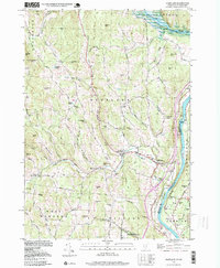Download a high-resolution, GPS-compatible USGS topo map for Hartland, VT (1999 edition)