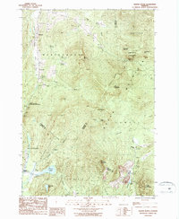 Download a high-resolution, GPS-compatible USGS topo map for Hazens Notch, VT (1987 edition)