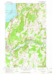 Download a high-resolution, GPS-compatible USGS topo map for Highgate Center, VT (1965 edition)