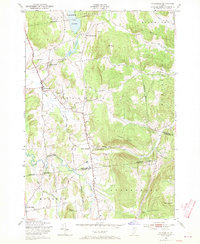 Download a high-resolution, GPS-compatible USGS topo map for Hinesburg, VT (1970 edition)