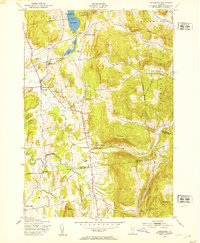 Download a high-resolution, GPS-compatible USGS topo map for Hinesburg, VT (1953 edition)