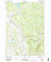 Download a high-resolution, GPS-compatible USGS topo map for Hinesburg, VT (1987 edition)
