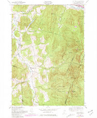 Download a high-resolution, GPS-compatible USGS topo map for Huntington, VT (1981 edition)