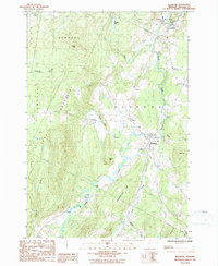 Download a high-resolution, GPS-compatible USGS topo map for Irasburg, VT (1986 edition)