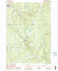 Download a high-resolution, GPS-compatible USGS topo map for Jacksonville, VT (1987 edition)