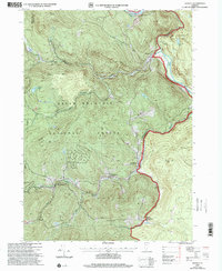 Download a high-resolution, GPS-compatible USGS topo map for Jamaica, VT (2000 edition)